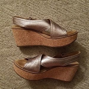 New Clarks Artisan Wedges